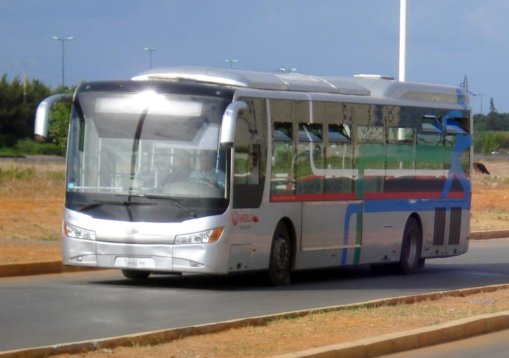 Bus Navette aeroport et centre ville de Rabat