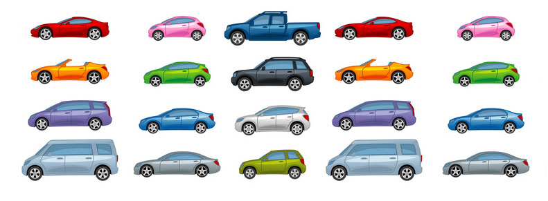 Types de voitures