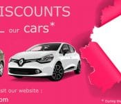 Car rental discounts