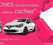 promoción de alquiler de coches