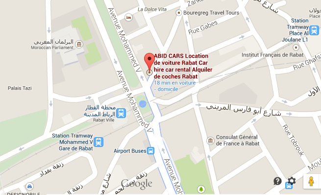 Abidcars office map